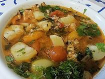 Bouillabaisse mit Kartoffeln