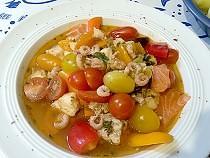 Bouillabaisse mit Tomaten